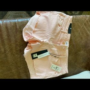 DL 1961 shorts light coral size 28 NWT